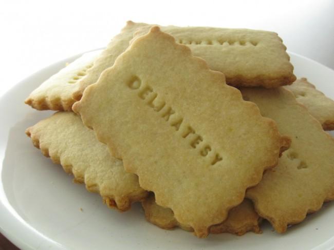 Marcipánové keksy