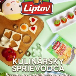 Title page of the Liptov food guide