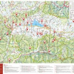 Tourist map in the Liptov tourist guide