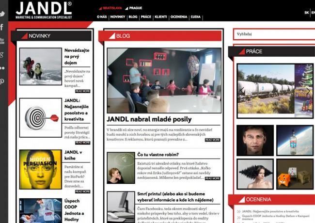 Jandl Website