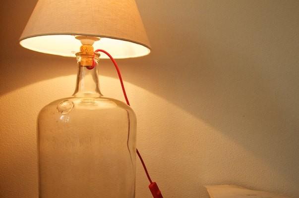 Hotová lampa